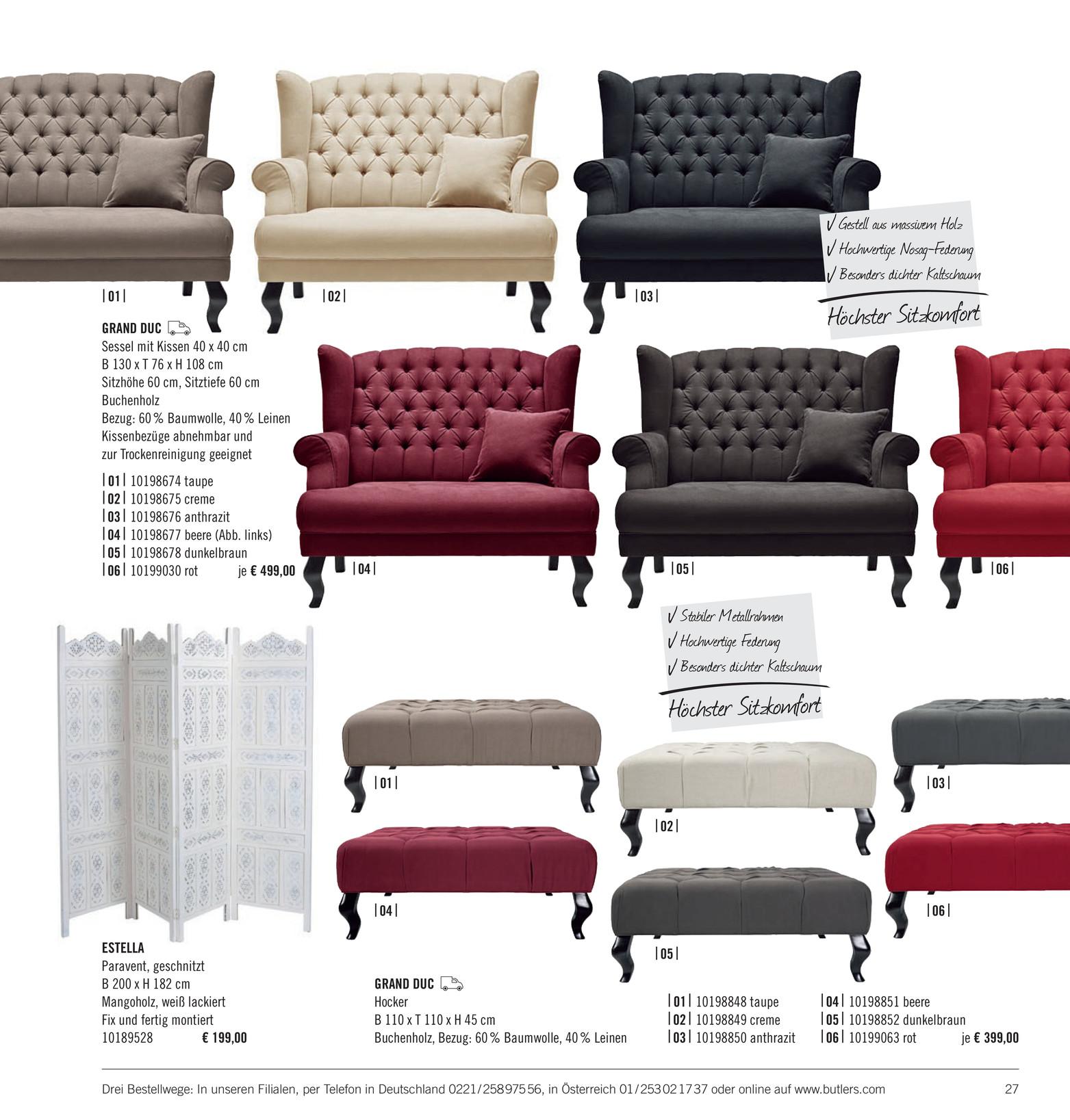 Butlers Katalog De Wohnst Cke Katalog 2014 Seite 26 27