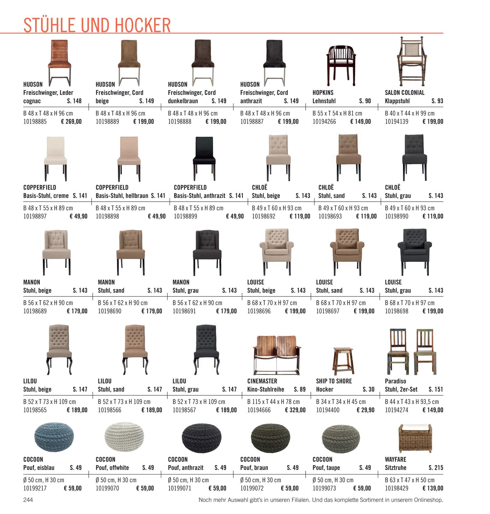 Butlers Katalog De Wohnst Cke Katalog 2014 Seite 244 245
