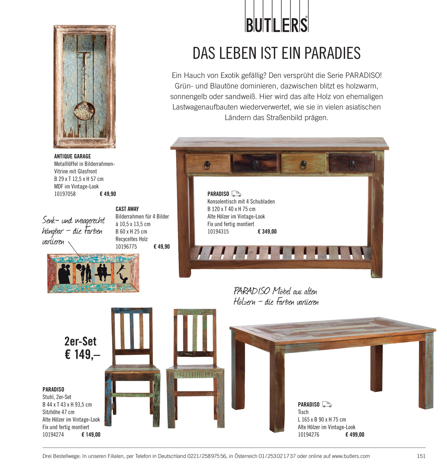 Butlers Katalog De Wohnst Cke Katalog 2014 Seite 150 151