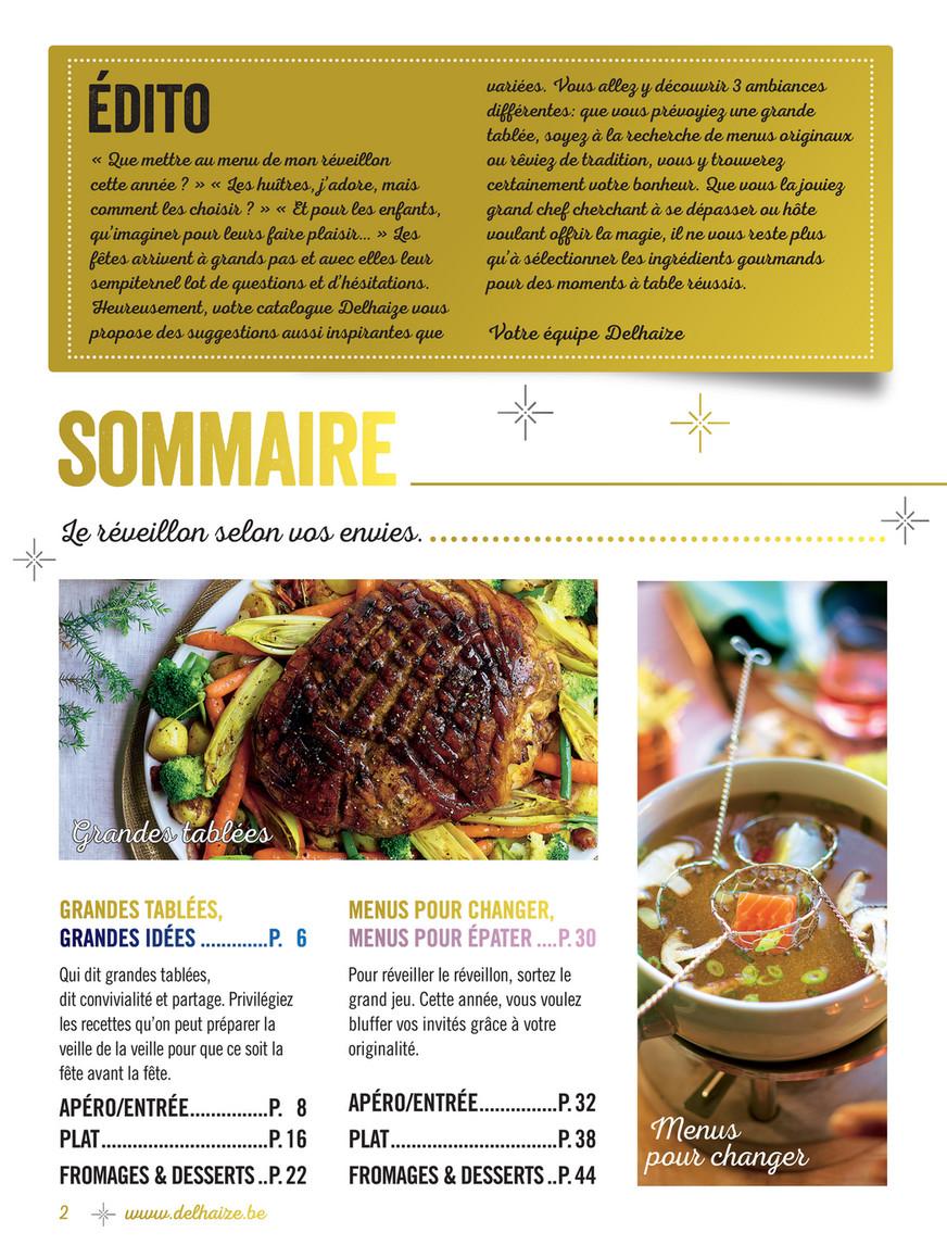 Idee Plat Reveillon.Delhaize Belgium Fr 2016 W50 Eoy Food Fr Page 1