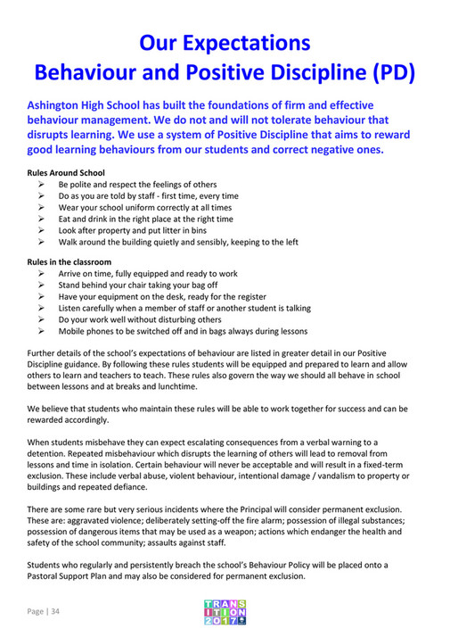 My publications - AHS Transition September 2016 - Page 34-35