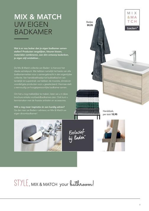 Bekijk de Mix en Match folder - boordevol inspiratie - Baden+