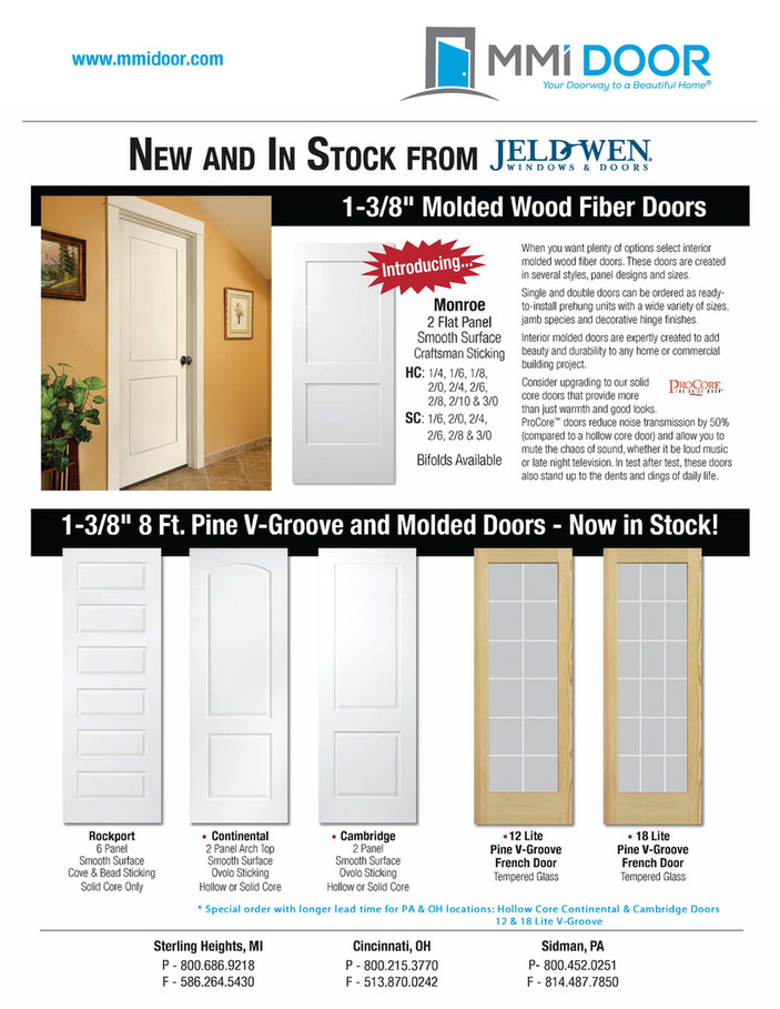 MMI DOOR - 8 Foot \u0026 Monroe Molded Doors  sc 1 st  MMI DOOR & MMI DOOR - 8 Foot \u0026 Monroe Molded Doors | MMI DOOR