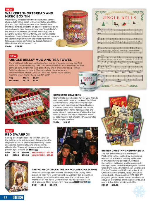 BBC Shop US - Holiday Catalog 2017 - iframe test - Page 32-33