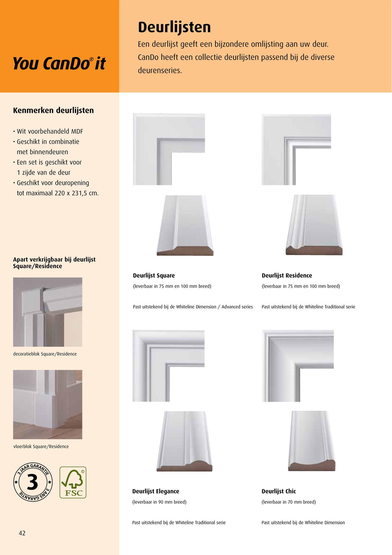 Multimate - CanDo deuren brochure - Pagina 42-43 Multimate