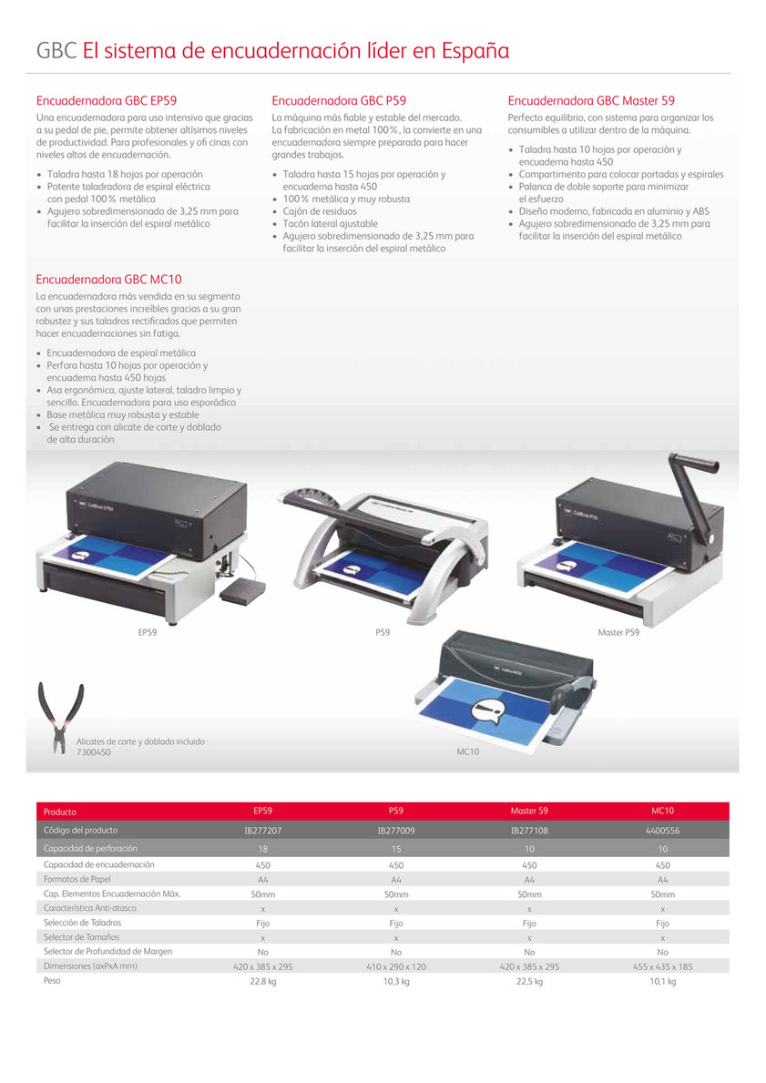 Encuadernadora GBC 4400556