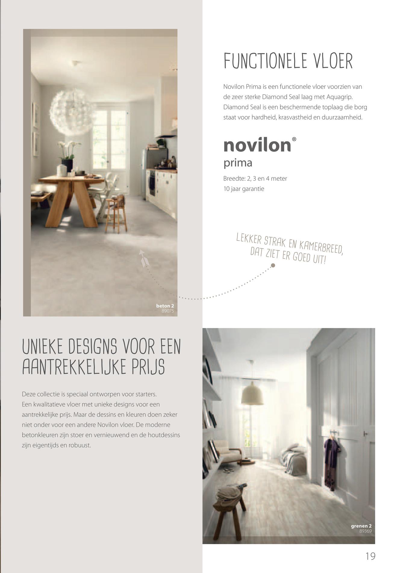 forbo flooring nl novilon banen brochure 2014 pagina 18 19