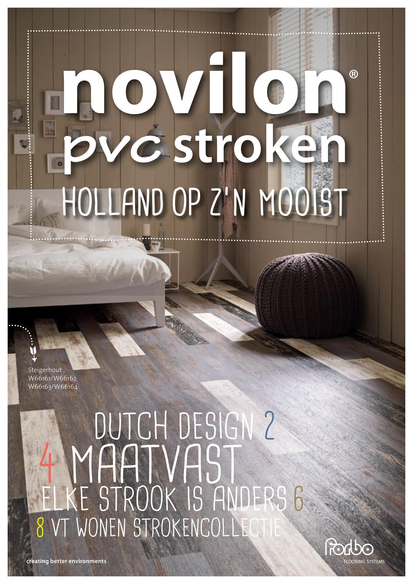 Forbo Flooring Nl Novilon Pvc Stroken Brochure Pagina 1