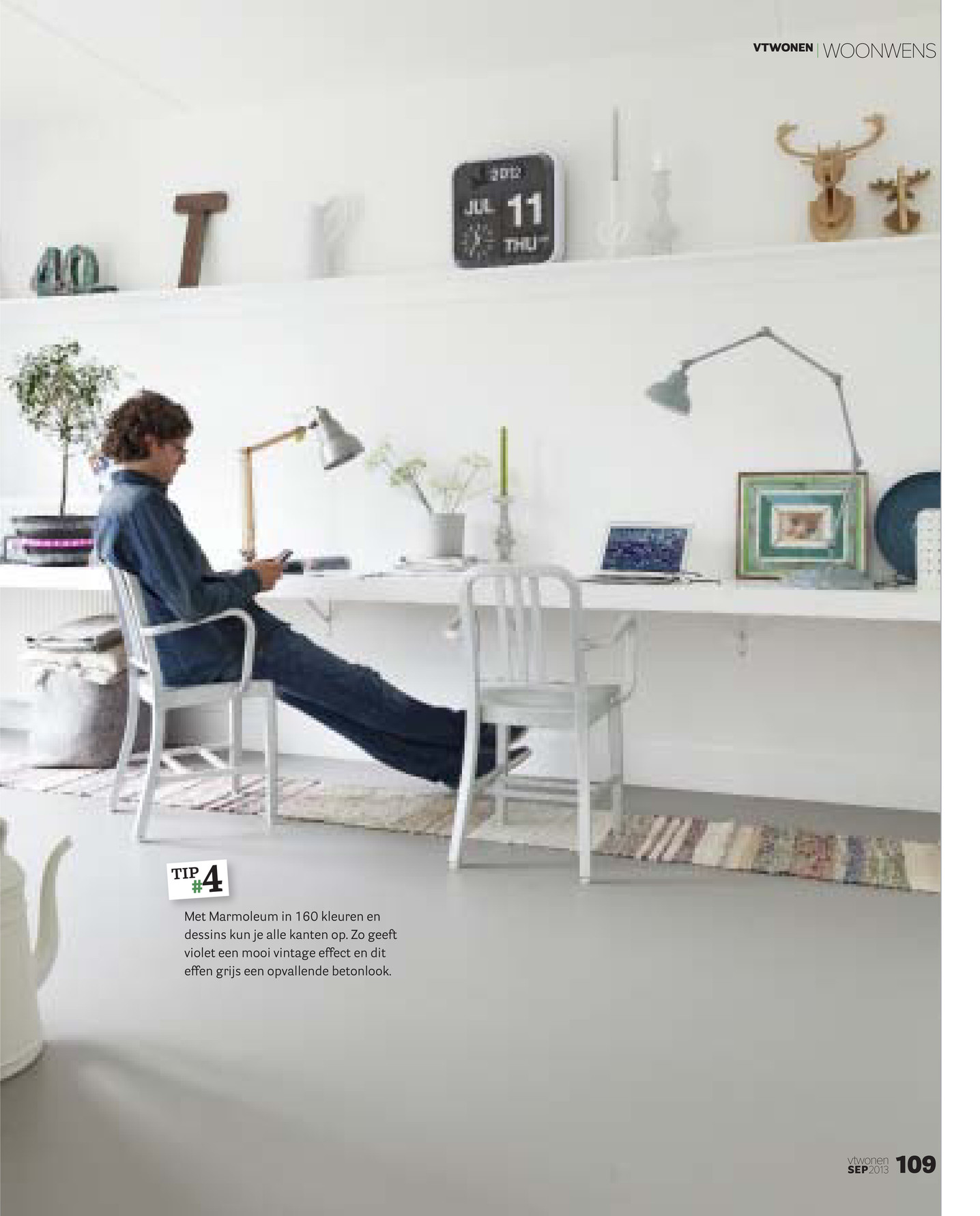 Forbo Flooring NL - VT wonen Woonwens 2013 - Pagina 4-5