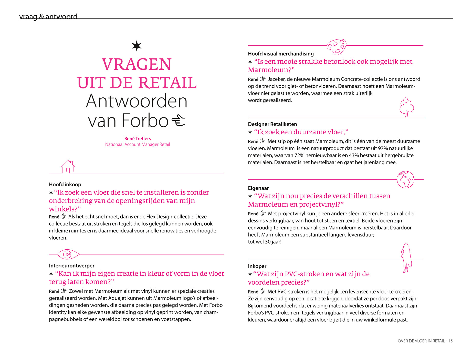 forbo flooring nl over de vloer in retail pagina 14 15
