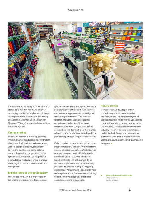 df4066d4536 ... Accessories Consequently, the rising number of brand stores goes hand  in hand with an everincreasing
