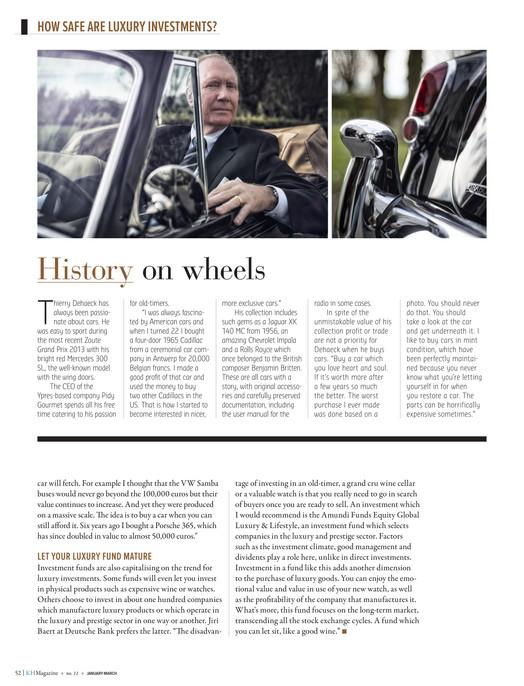 Knokke-Heist Magazine - KH Magazine 15 ENG - Page 52-53
