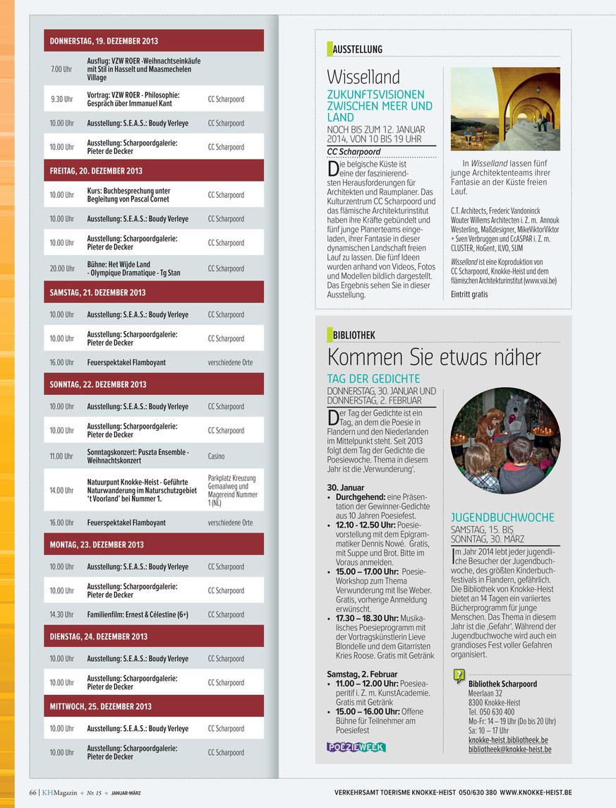 Knokke Heist Magazine Kh Magazine 15 Dui Page 66 67