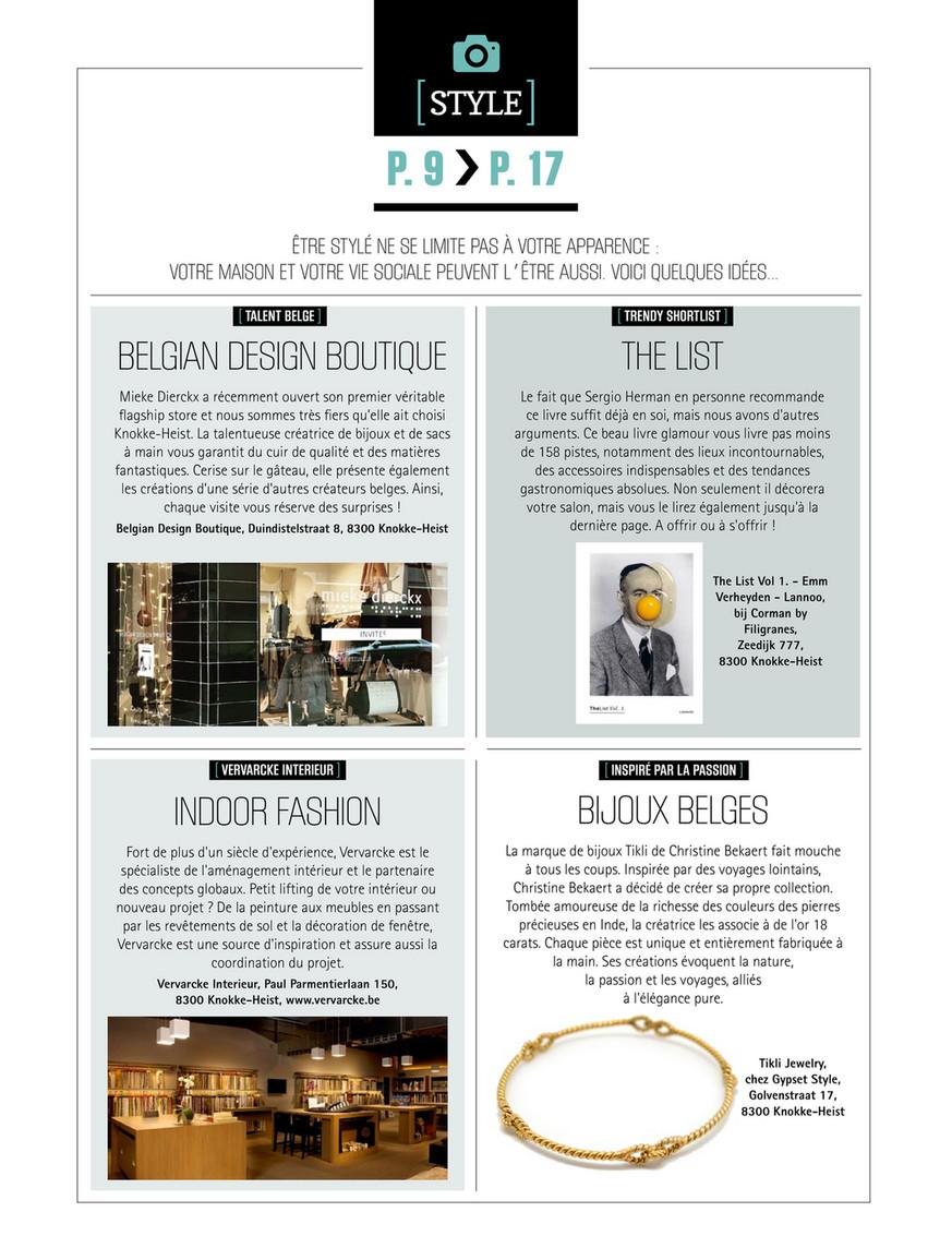 Livre Architecture D Intérieur knokke-heist magazine - kh magazine _24_fr - page 10-11
