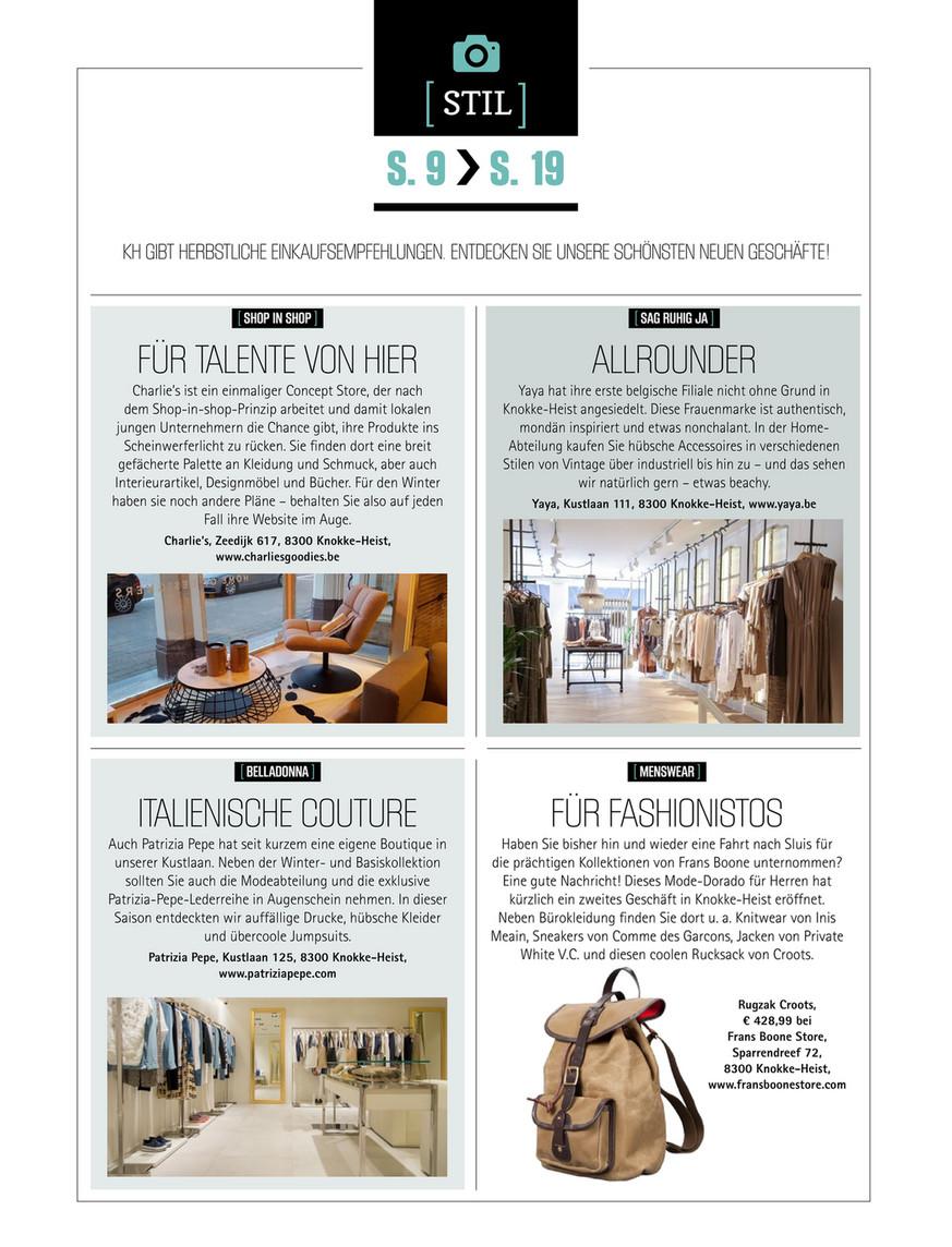 knokke-heist magazine - kh_magazine_26_du - page 8-9