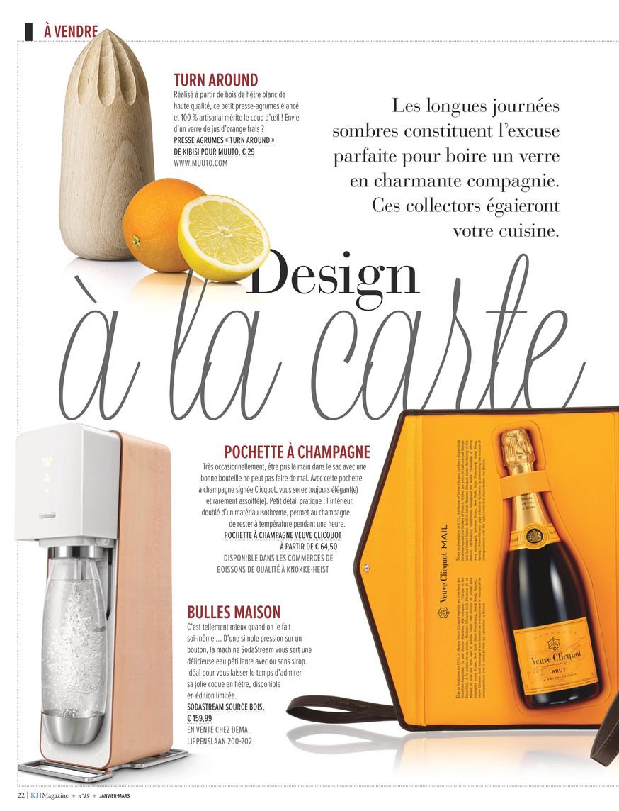La Compagnie Du Hetre knokke-heist magazine - kh magazine 19 frans - page 22-23