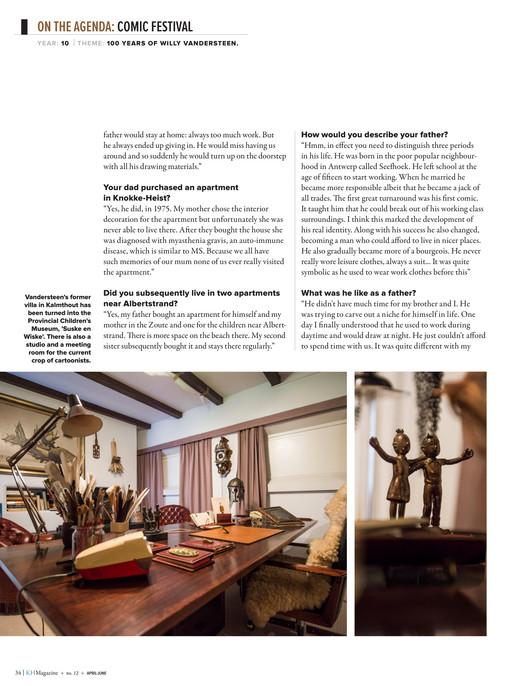 Knokke-Heist Magazine - KH Magazine 12 Engels - Page 34-35
