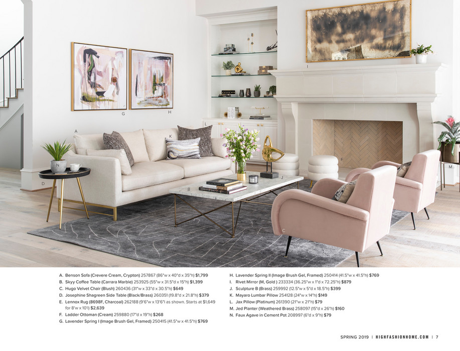 Tremendous High Fashion Home Catalog Spring 2019 Hooker Skyy Coffee Evergreenethics Interior Chair Design Evergreenethicsorg