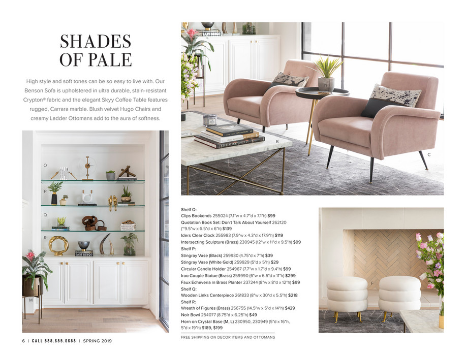 Pleasing High Fashion Home Catalog Spring 2019 Hooker Skyy Coffee Evergreenethics Interior Chair Design Evergreenethicsorg