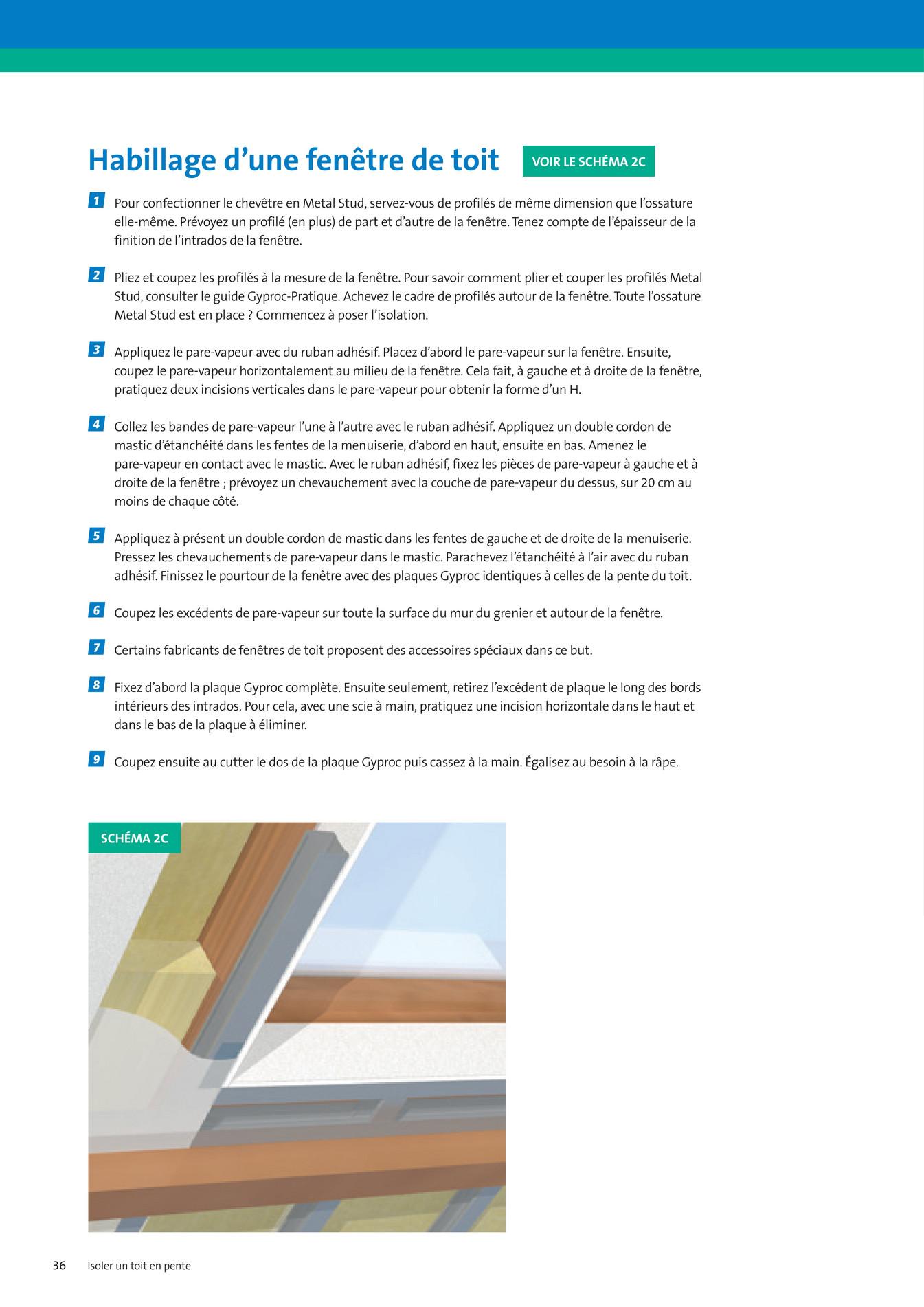 gyproc guide de la r novation gyproc fr page 36 37. Black Bedroom Furniture Sets. Home Design Ideas