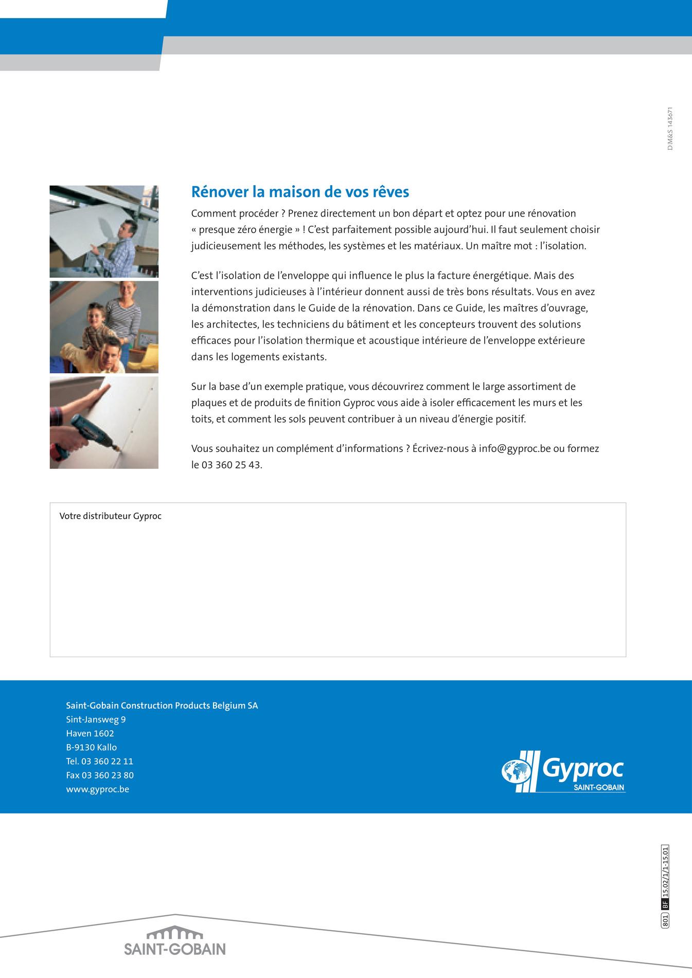 gyproc guide de la r novation gyproc fr page 68. Black Bedroom Furniture Sets. Home Design Ideas