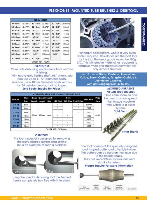 Moleroda Finishing Systems Ltd - Moleroda Catalogue 2015 - Page 84