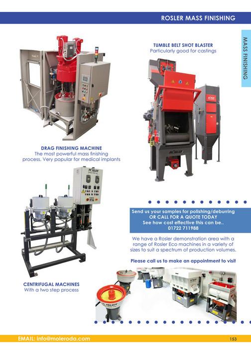 Moleroda Finishing Systems Ltd - Moleroda Catalogue 2015 - Page 152