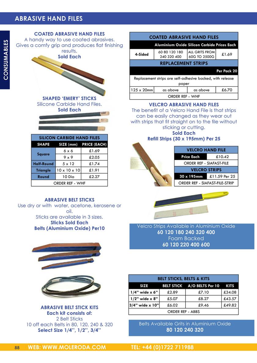 "3/"" x 18/"" A//O Sanding Belts Medium Kit 2 each 10 PACK 100 120 180 220 320 Grit"