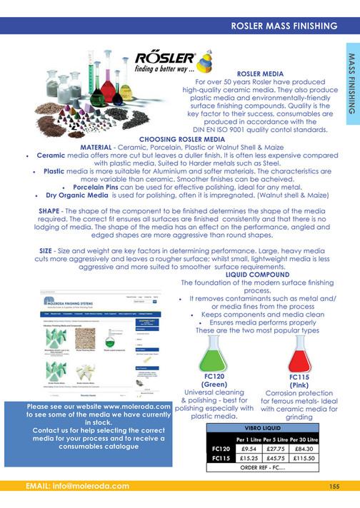 Moleroda Finishing Systems Ltd - Moleroda Catalogue 2015