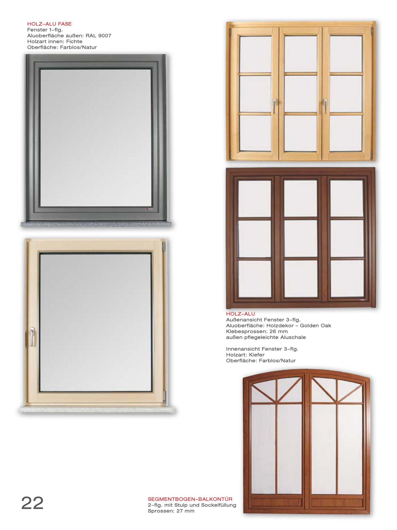 Fenster außenansicht  Bruckner Fenster und Türen - Bruckner Fenster Messekatalog - Page ...