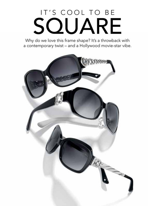 6be10ec97a1d IT'S COOL TO BE SQUARE Why do we love this frame shape? It's a throwback  Alora Sunglasses ...