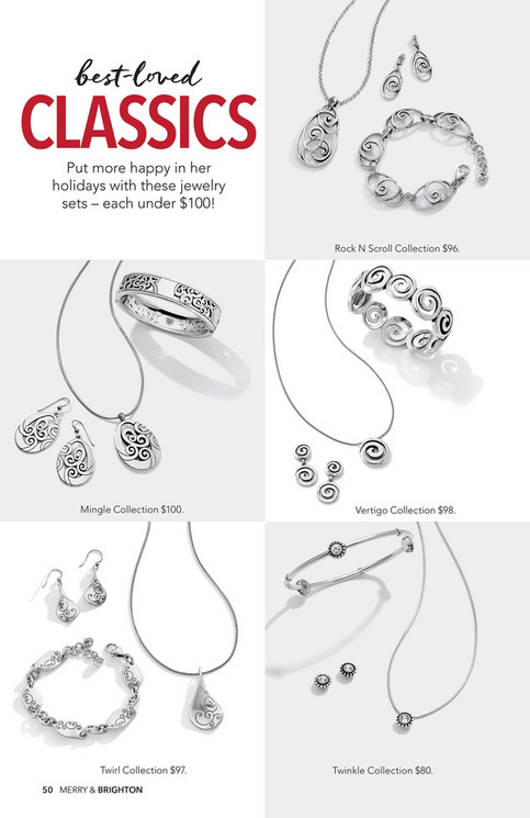 Brighton Twinkle Round Gift Set Necklace, Earrings
