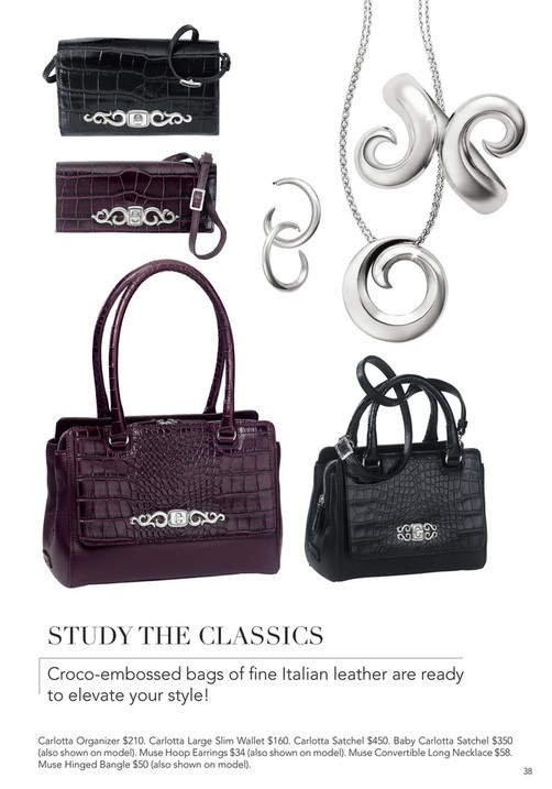 37 Study The Classics Croco Embossed Bags Of Fine Italian Leather Are Ready To Elevate Your