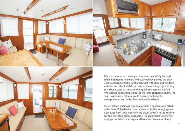 Explorer Motor Yachts - Clipper40 Brochure - Page 8-9