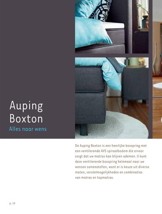 Auping Boxspring Boxton.Meulen En Baarsma Auping Boxsprings Pagina 14 15 Created With