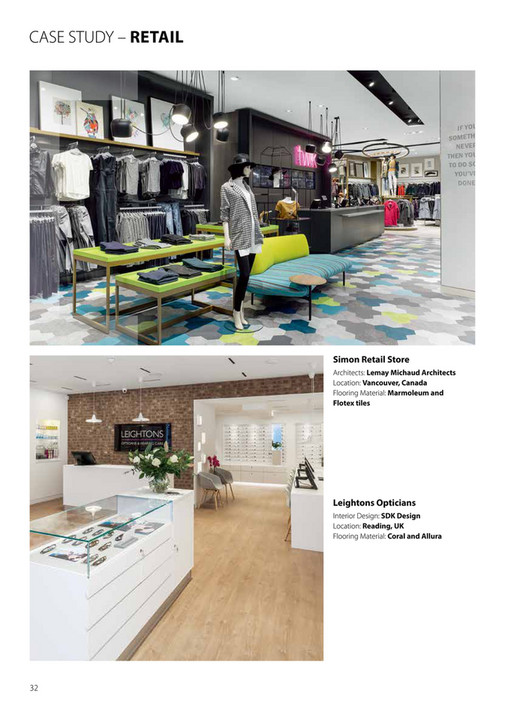 Forbo Integrated Design brochure UK Oct 17 - Page 32-33