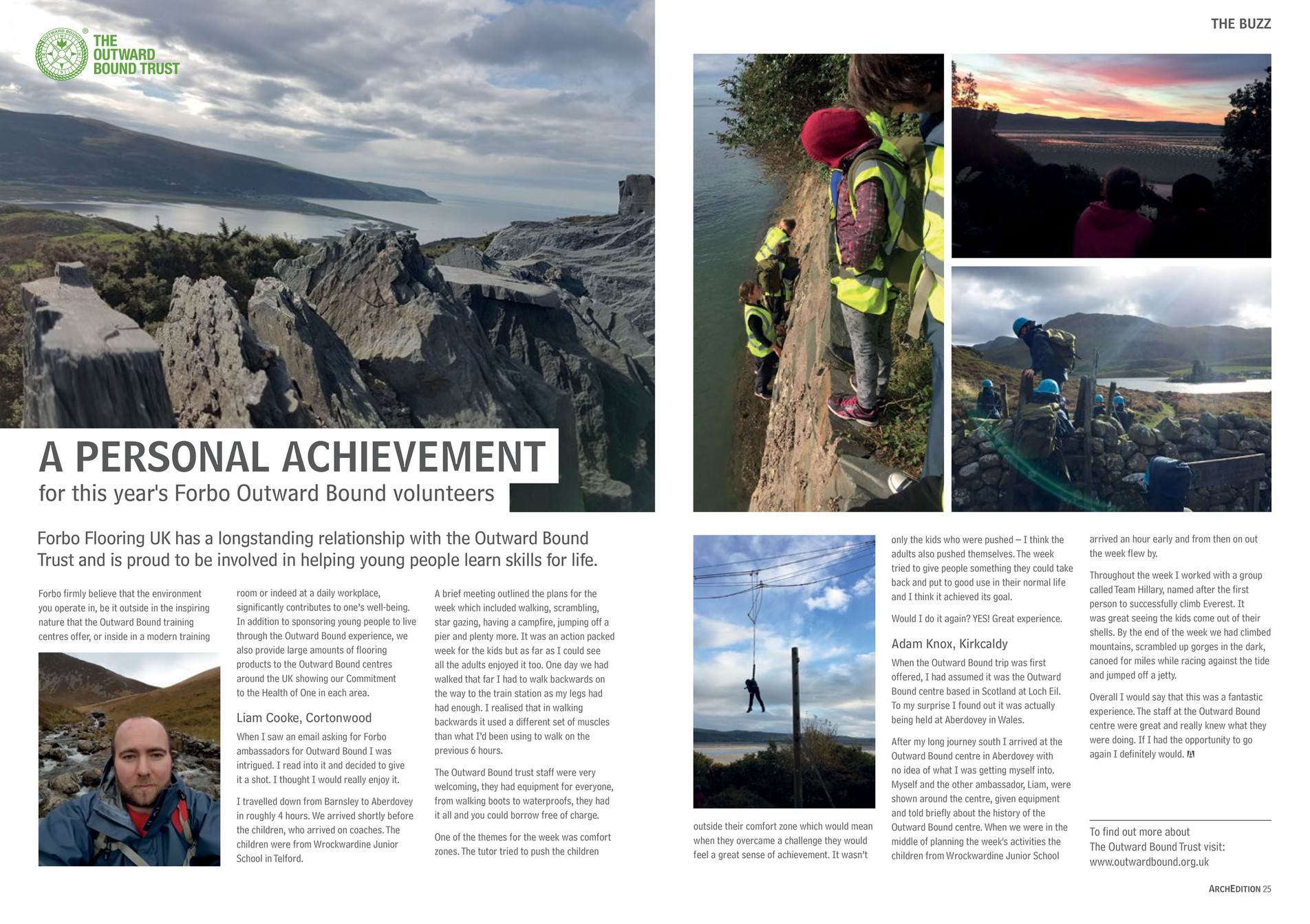 End How To Make An Email To Find Out More About The Outward Bound  Trust Visit: Outwardbound Archedition 25