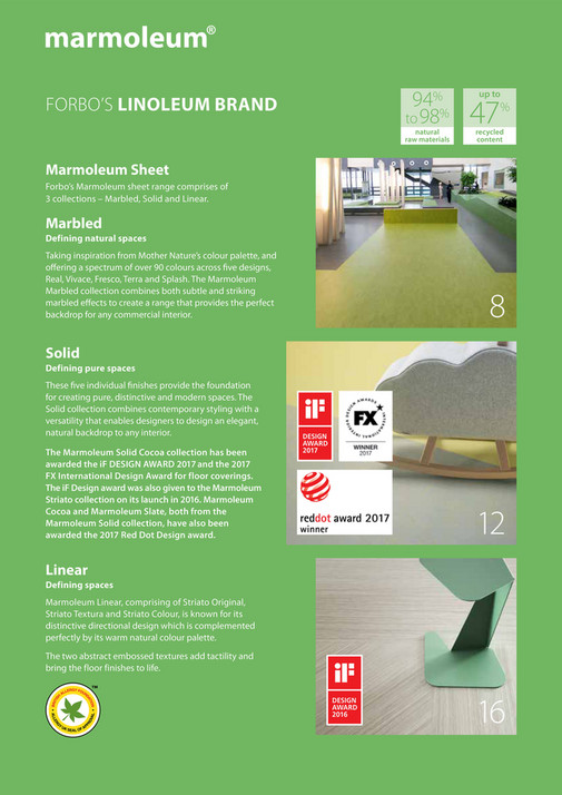 ForboFlooring_UK - Forbo Marmoleum Collection Brochure - Page 2-3