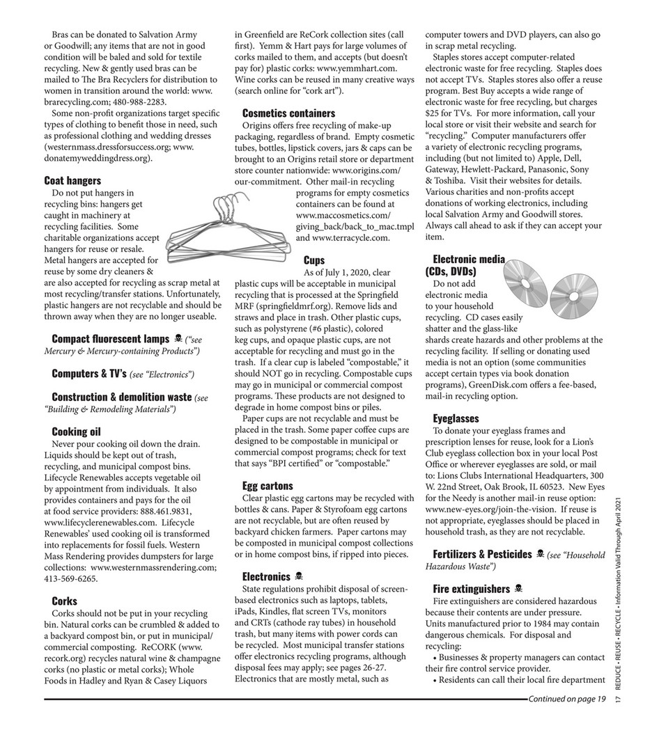 My publications - Reduce Reuse Recycle 2020 - Page 18-19
