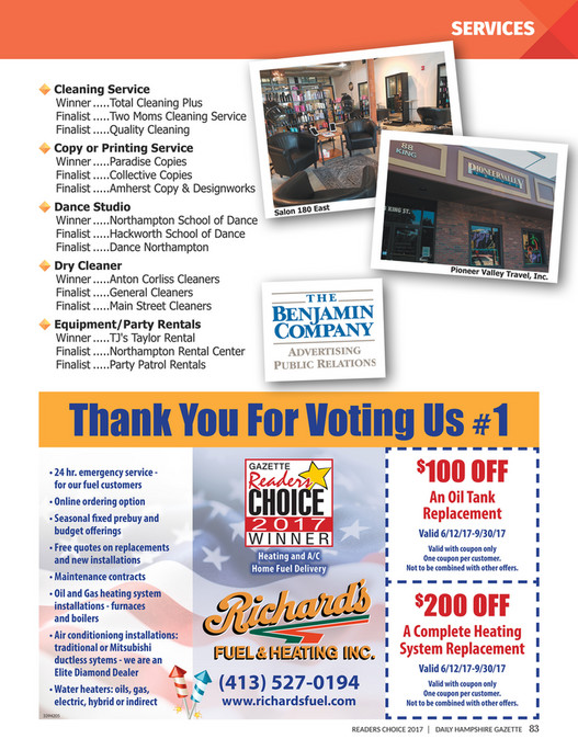 My publications - Readers Choice Awards 2017 - Page 82-83