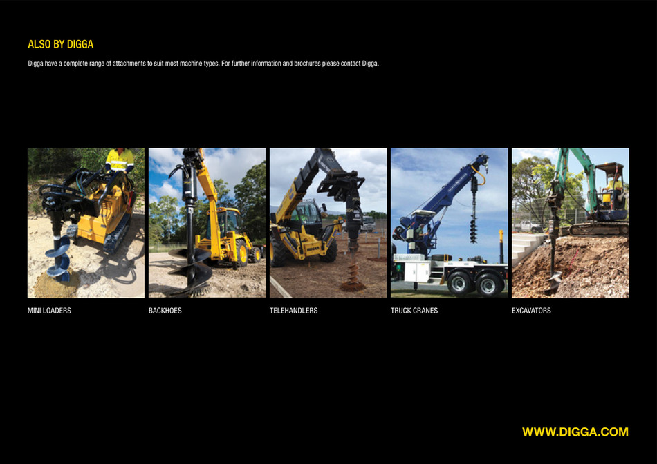 Blakwood Mountain Design - DIGGA Trenchers for Skid Steers - Page 4