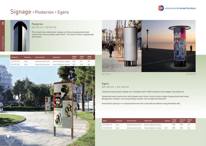 Environmental Street Furniture - World of ESF catalogue - Page 22-23