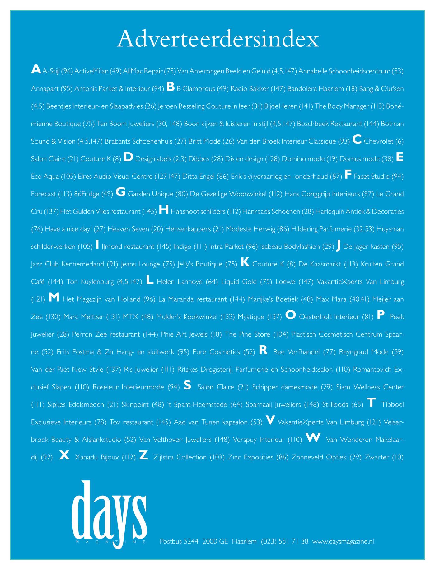 days magazine days10 voorjaar 2010 pagina 146 147
