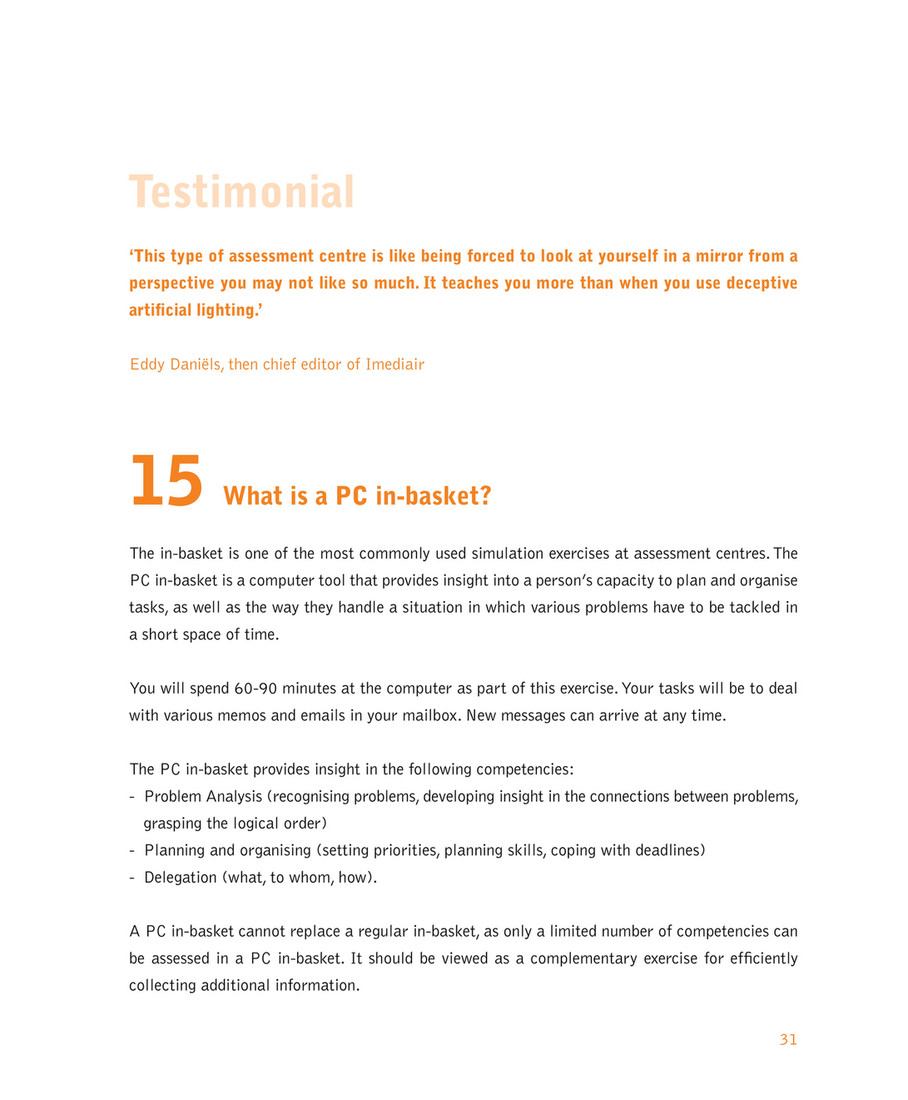 Quintessence consulting - test - Pagina 31 - Created with