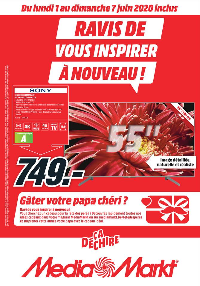 Folder MediaMarkt du 01/06/2020 au 07/06/2020 - Promotions de la semaine 23