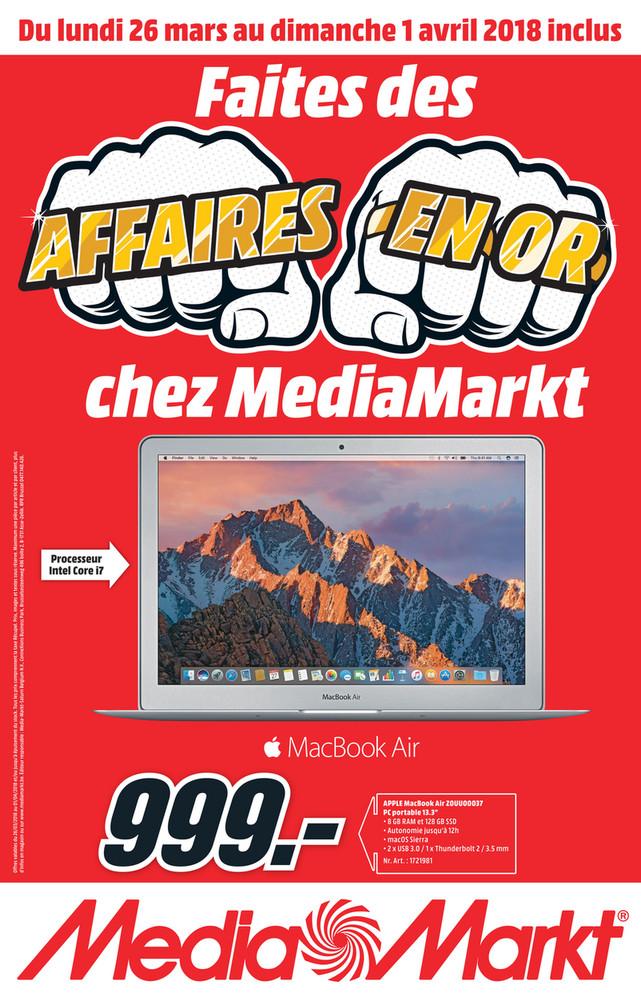 Folder MediaMarkt du 26/03/2018 au 01/04/2018 - Nationale_Flyer_week13_FR.pdf