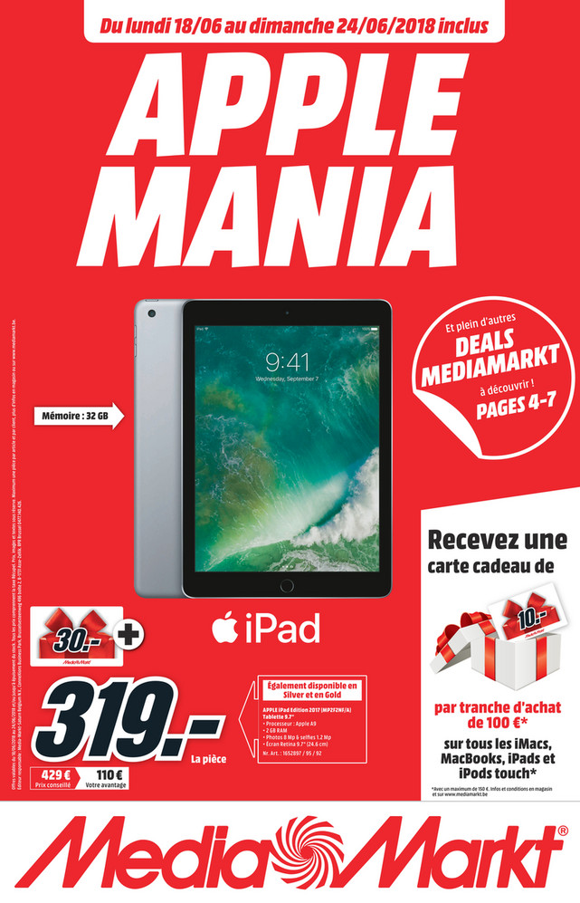 Folder MediaMarkt du 18/06/2018 au 24/06/2018 - Nationale_Flyer_week25_FR.pdf