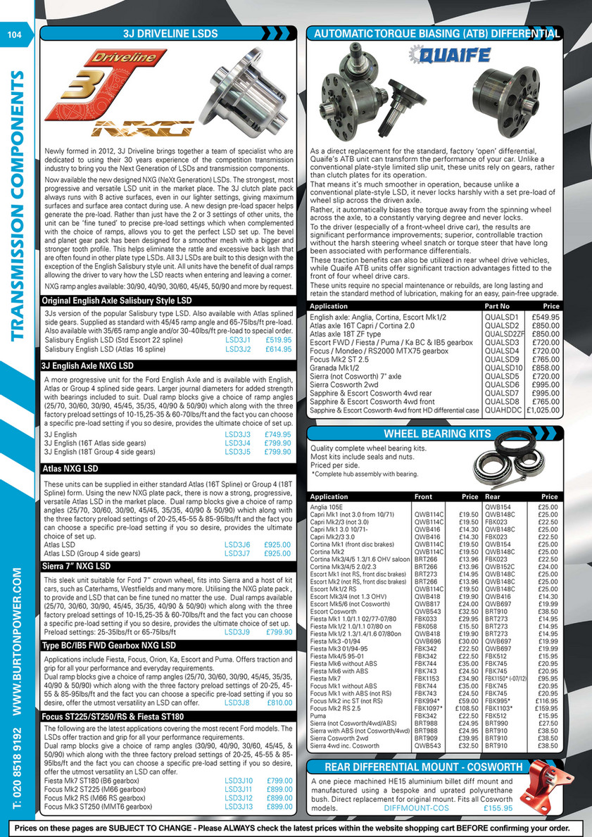 Burton Power - 2018 Catalogue Pages - Page 104 - Created with