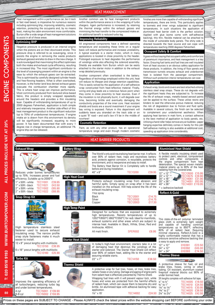 Burton Power - 2019 Catalogue Pages - Page 80 - Created with