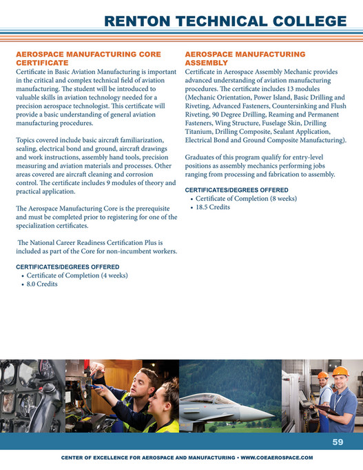 Center of Excellence for Aerospace & Advanced Manufacturing - Center